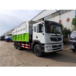 后八轮18吨20吨污水厂污泥运输车
