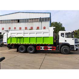 污水处理厂拉18吨20吨污泥运输车推荐