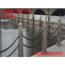 泰安鲁兴防护铁链 Q235铁的护栏链条粗细规格