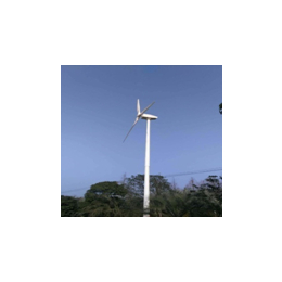 亚博国际版锡林浩特300W风力发电机 风光互补太阳能发电系统