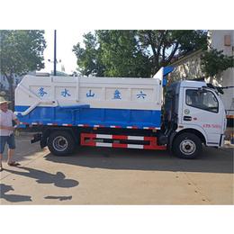 污水厂对接运输污泥污水车-型号5立方8立方污泥运输车