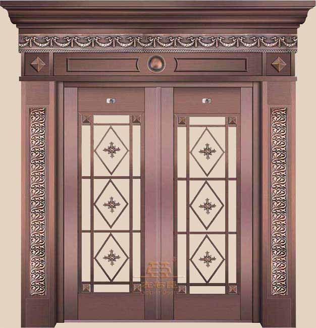 铜门--身份地位的象征