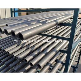 百德厂家直供碳化硅陶瓷管 套管辊棒 传动棒 碳化硅杆 传动杆
