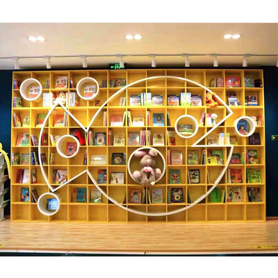 创意整墙定制书柜