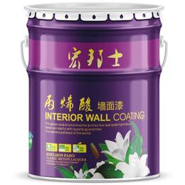 钛白墙面漆 宏邦士品牌