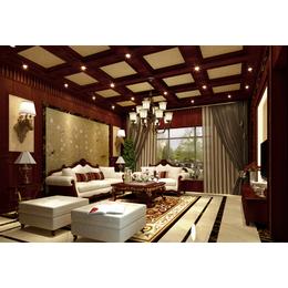 美式别墅客厅