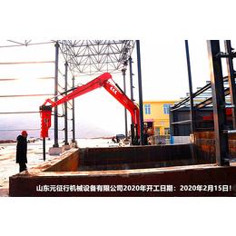 山东元征行厂家生产固定式电动液压碎石机