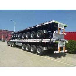 顺运SY-14三桥集装箱运输平板车