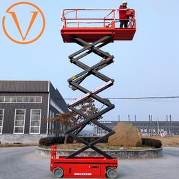 全自行走升降机 18米液压升降平台 自行走剪刀车制造