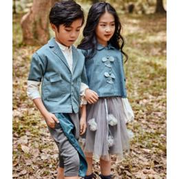 金果果时尚童装2020春季新款平安国际娱乐童装折扣尾货供应厂家直销