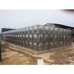 恩施不锈钢水箱厂家 组合消防水箱价格 焊接方形保温水箱304缩略图