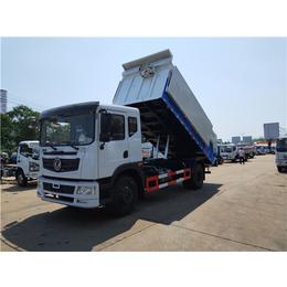 拉10吨淤泥污泥车型-10吨15吨自装卸式污泥运输车