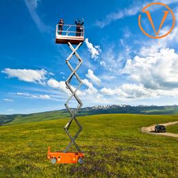 自行走升降机 18米升降平台 液压升降车供应 电动升高车制造