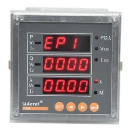 安科瑞多功能电表PZ96-AI3-C三相数显智能电流表
