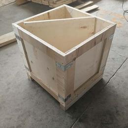 免熏蒸木箱厂定做胶合板木箱方便实用 青岛黄岛厂家外形美观