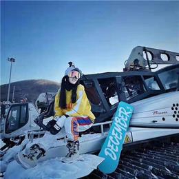 滑雪场单双板型选择 河南曼琳滑雪板厂家现货定制价格